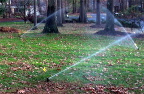 aeration irrigation